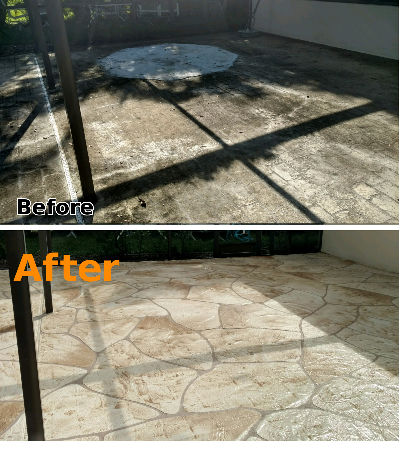 ... Concrete Patio Resurfacing Products By Concrete Landscape Curbing Cape  Coral Fl Pool Deck Resurfacing ...