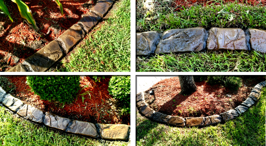 Curbing Concrete Landscaping