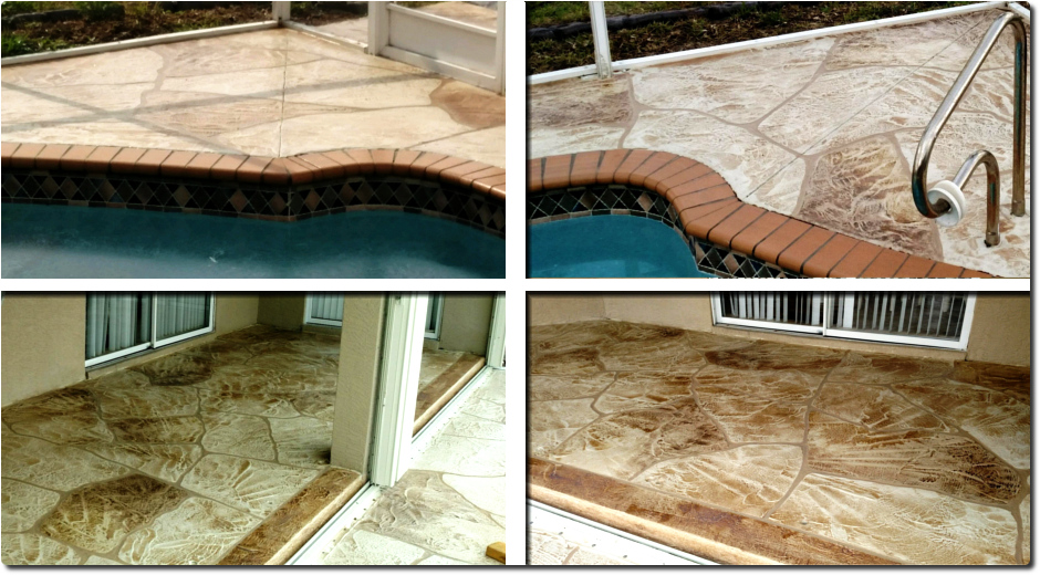 Pool Deck Concrete Landscaping